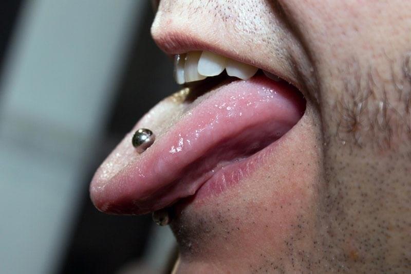 Piercing lengua