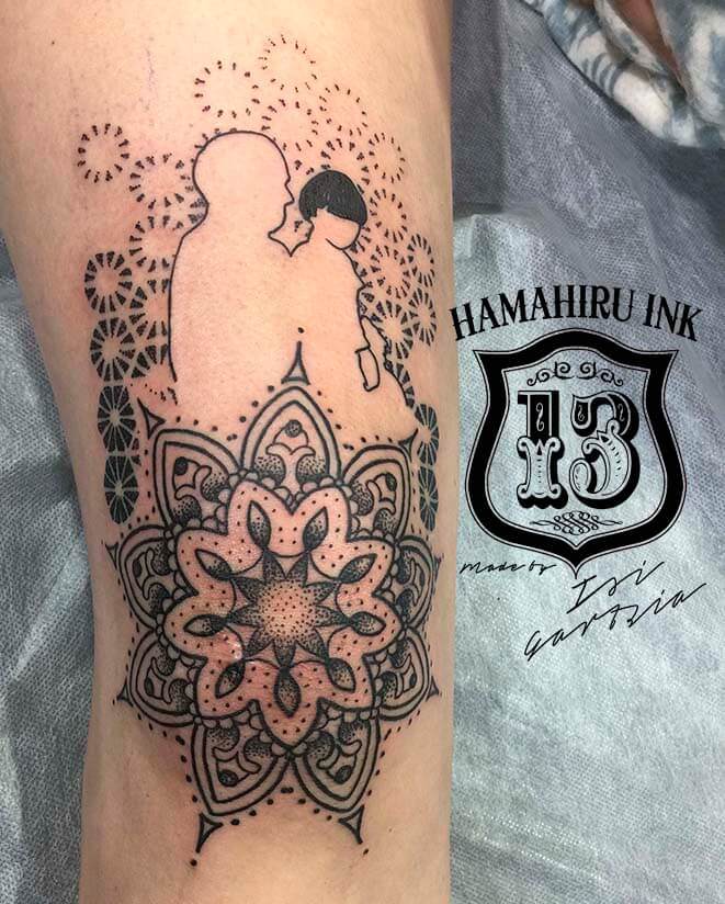 Mandala Tattoo Hamahiru 13 Ink Tattoo & Piercing