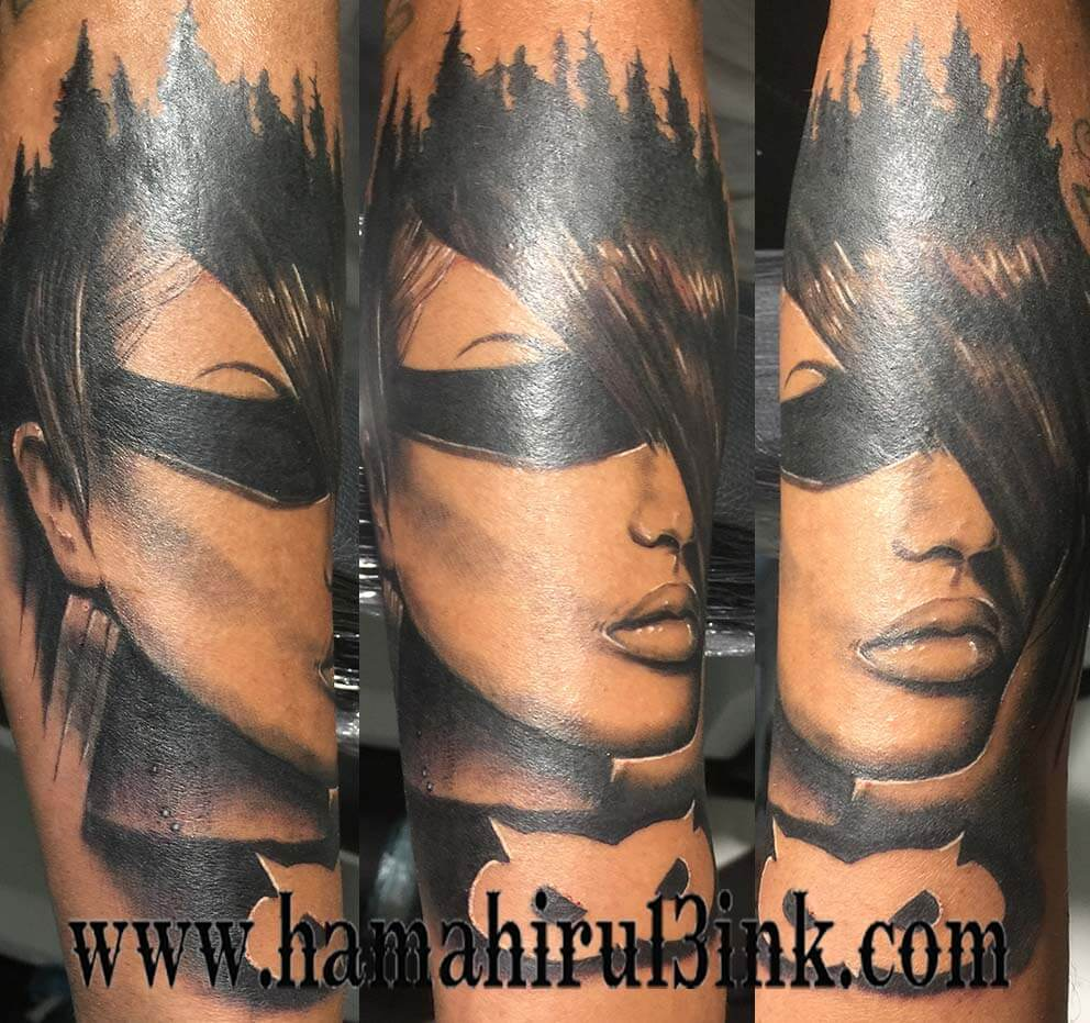 Tatuaje realista Hamahiru 13 Ink Tattoo & Piercing Mikel 1