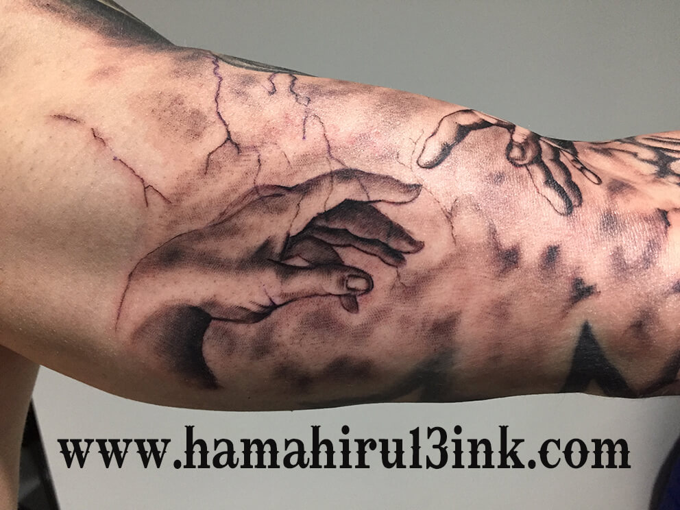 Tatuaje renacentista final Hamahiru 13 Ink Tattoo & piercing