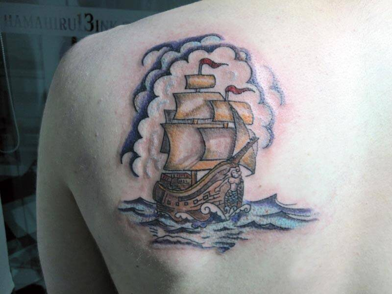 Tattoo Barco