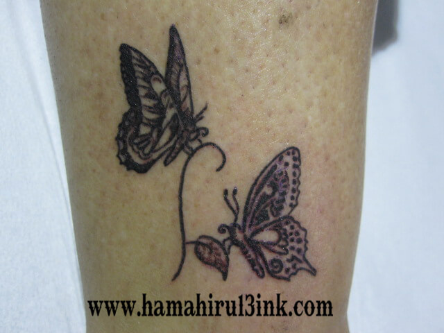 Tatuajes Vitoria mariposas Hamahiru 13 Ink Tattoo & Piercing