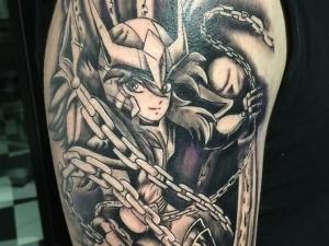Tatuaje Andromeda Hamahiru 13 Ink Tattoo & Piercing