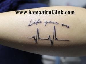 Tatuaje electro Hamahiru 13 Ink Tattoo & Piercing
