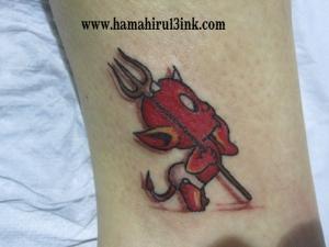 Tatuaje color Hamahiru 13 Ink Tattoo & Piercing