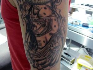 Tattoo hockey Hamahiru 13 Ink Tattoo & Piercing