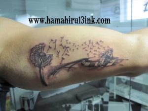 Tatuaje motos Hamahiru 13 Ink Tattoo & Piercing