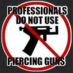 ¿¿¿¿Pistola perforadora o piercing (aguja)????
