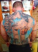 Tatuajes y sus leyes curiosas en EEUU.