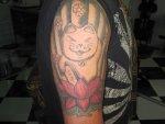 Maneki-neko. La historia del tatuaje de JK.