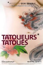 Tatuadores tatuados. Expo en Paris.