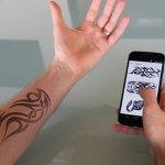 ¿Quieres cambiar el diseño de tu tatuaje? E-Ink y tu móvil lo van a hacer posible.