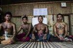 Los tatuajes mágicos vuelven a Camboya.