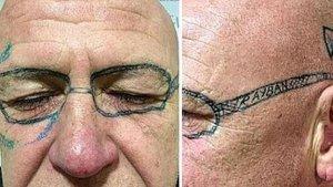 Tatuaje de gafas