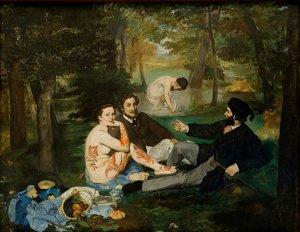 """""""Almuerzo sobre la hierba"""" Edouard Manet"""