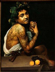 """Baco enfermo"" Caravaggio."