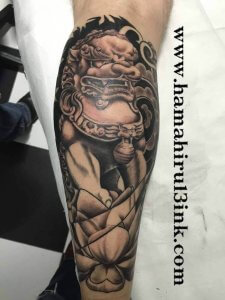 Tatuaje Perro Fu.