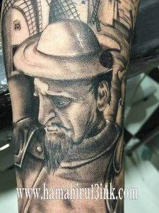Tatuaje Don Quijote Hamahiru 13 Ink Tattoo & Piercing Andoni 9