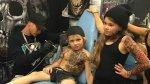 Tatuajes para niños hospitalizados.