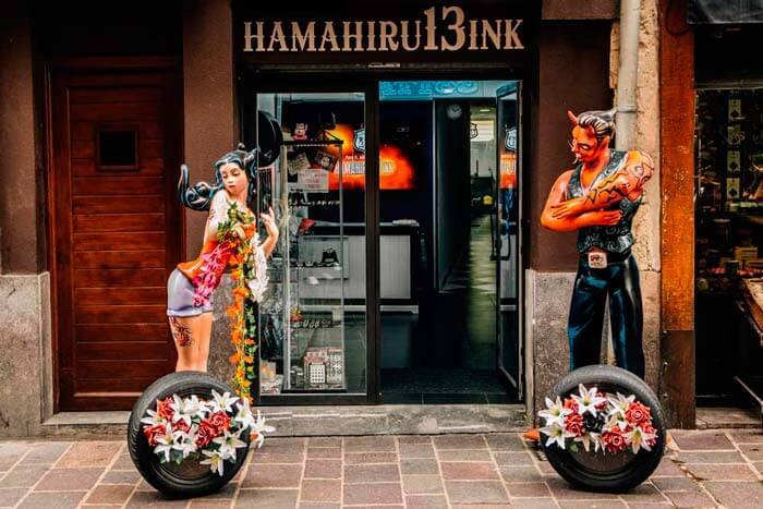 Hamahiru 13 ink estudio de tatuajes en Vitoria-Gasteiz