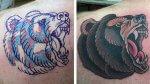 Dave Cutlip borra tatuajes racistas gratis.
