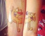 Tatuajes para parejas. Ideas varias.