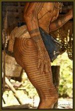 Los tatuajes en la tribu Mentawai.
